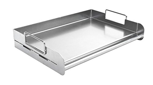 Charcoal Companion CC3500 Stainless Steel Pro Grill Griddle (Grill Stainless Griddle For Steel)