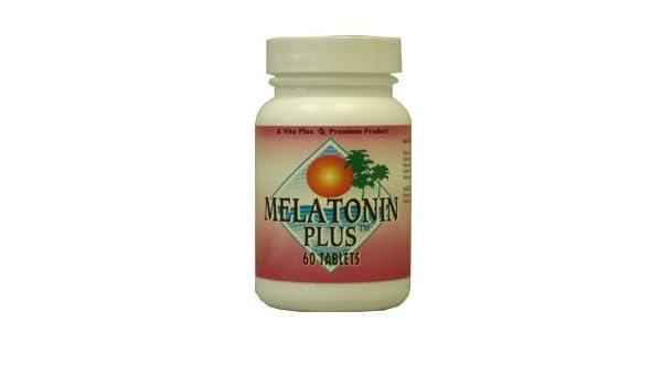 Amazon.com: MELATONIN PLUS By Vita Plus, 60 Tablets: Health & Personal Care