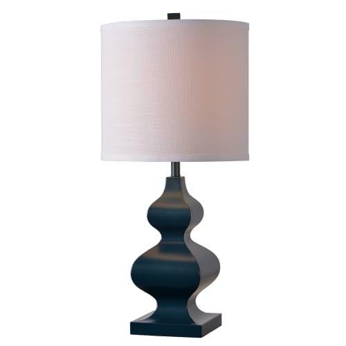 Dark Blue Lamp - 6