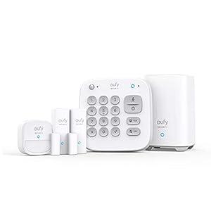 eufy Security 5 Piezas Smart Home Set, Sistema de Seguridad Inteligente para el hogar, con Cerradura de Puerta, Sensor… 31deV9aEQ 2BL