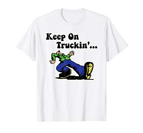 Good Vibes Vintage Keep on Truckin' 1970's T Shirt