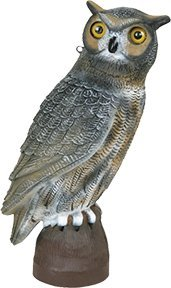 Flambeau Outdoor 5910WL Owl Specialty Decoy, 17-Inch