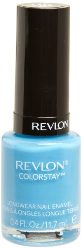 REVLON Colorstay Nail Enamel, Coastal Surf, 0.4 Fluid Ounce