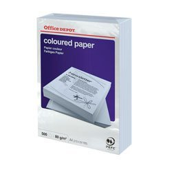 1 Ream (500) sheets Coloured Printer Paper Pastel Lilac A4 80gsm - 3217199 Relyonus Stationery Supplies