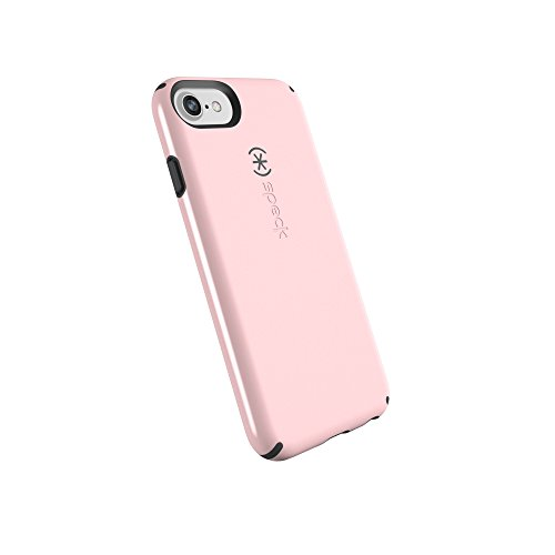 Speck Products CandyShell Cell Phone Case for iPhone 8 (Also fits 7/6S/6) - Quartz Pink/Slate Grey