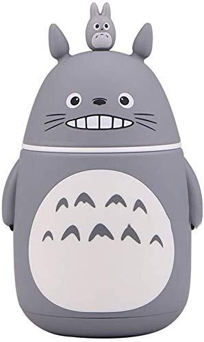 Mi Vecino Totoro Vacuum Bottle Hayao Miyazaki Vacuum Cup con matraz de vacio de Acero Inoxidable con 300 ml para Travel Home