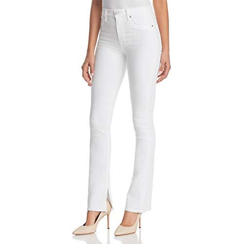 HUDSON Women's Heartbreaker Jeans in Optic White Optic White 27 32