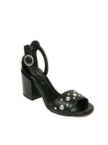 Fashion Women's Sandals Divine Black Follie wH0Ax10q