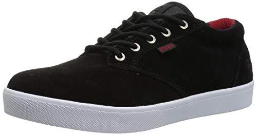 Etnies Men's Jameson MID Crank Skate Shoe, Black, 10.5 Medium US