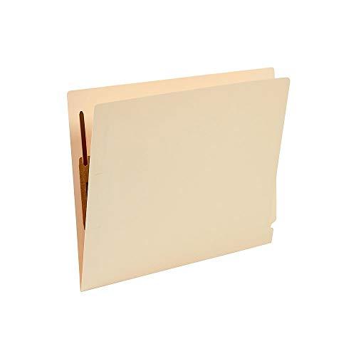 Staples Heavyweight Manila End-Tab Fastener Folders with Reinforced Tabs, Letter, - Manila End Heavyweight