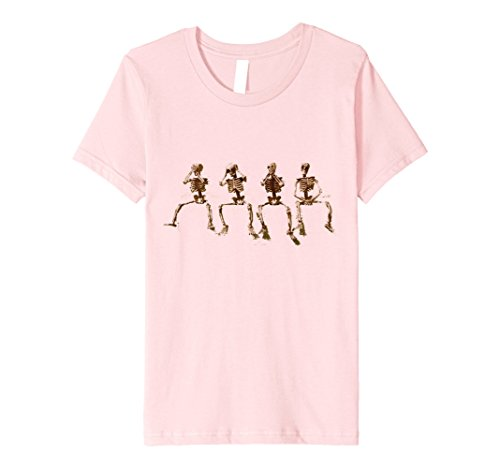 Hear No Evil See No Evil Speak No Evil Costumes (Kids Premium Hear See Speak and Do No Evil Halloween T-Shirt 4 Pink)