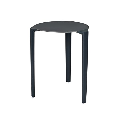 Ezpeleta One Mesa Redonda, Antracita, 60 x 60 x 73 cm: Amazon.es ...