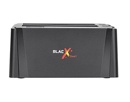 Thermaltake ST0014U-C BlacX Duet Hard Drive Enclosure Docking Station Black