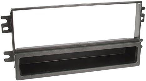 Kia Carnival 01-05 1-DIN Autoradio Einbauset in original Plug/&Play Qualit/ät mit Antennenadapter Radioanschlusskabel Zubeh/ör und Radioblende Einbaurahmen schwarz