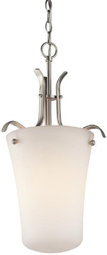 Kichler 43076OZ Armida Foyer Pendant 1-Light, Olde Bronze ()