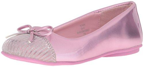 Girls' kensie KG24516 Metal Girl Pink Flat Zq5RTwzaqx