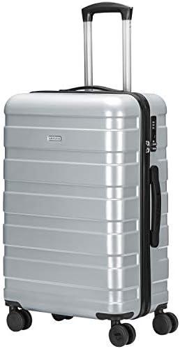 [해외]Amasava 여행 가방 캐리어 가방 여행 가방 저소음 더블 캐스터 경량 TSA 자물쇠 장착 휴대용 케이스 / Amasava Suitcase Carry Bag Travel Bag Quiet Double Caster Lightweight TSA Lock Equipped Carry Case