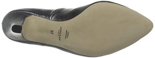 JONAK 088 11296 Cu H4 - Zapatos de tacón Mujer Cuir Metalise Acier