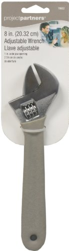 Project Partner 70822 8-Inch Adjustable Wrench
