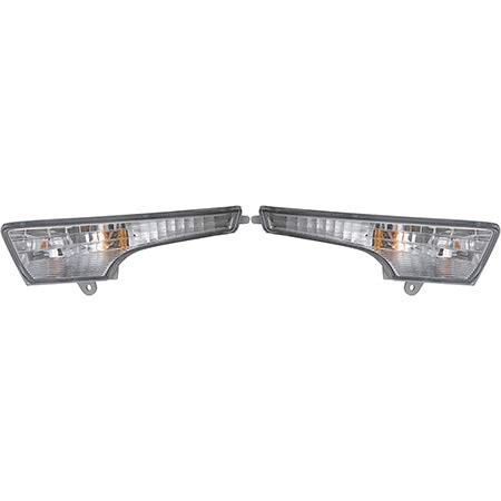 CarLights360: Fits 2013 2014 2015 Nissan Altima Turn Signal Light Assembly Driver and Passenger Side NSF Certified w/Bulbs - Replaces NI2530118 NI2531118 (Vehicle Trim: Sedan)