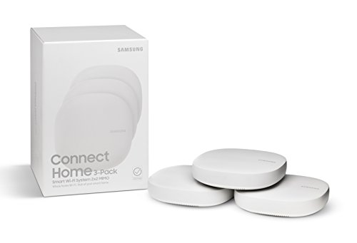 Samsung Connect Home AC1300 Smart Wi-Fi System (3-Pack), Works as a SmartThings Hub by Samsung (Image #1)