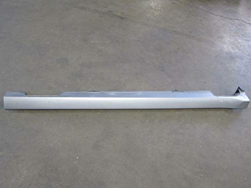 Satin Silver Effect - 03 Fits Honda Accord Left Driver Side Rocker Moulding Ground Effect Satin Silver