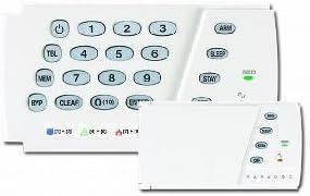 Paradox K636 teclado con indicadores LED 10 zonas y puerta ...