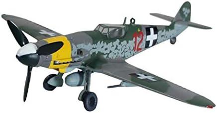 1/72スケール戦闘機モデル、軍事BF109G-10 JGファイタープラモデル、大人のグッズやギフト、5.4Inch X5inc