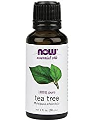 Now Foods Certified Organic Essential Oil, Tea Tree, 1 Fluid Ounce