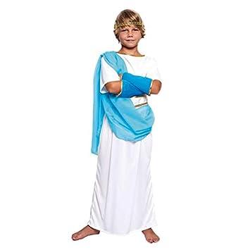 Disfraz Griego niño Infantil para Carnaval (3-4 años) (+ Tallas) Carnaval Históricos