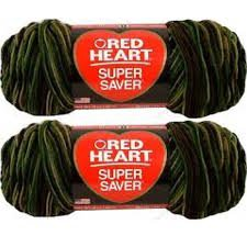 Bulk Buy: Red Heart Super Saver E300 (2-pack) - Yarn Camo