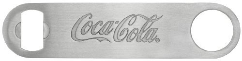 Tablecraft Coca-Cola Coke Stainless Steel Flat Pocket Bottle Opener ~ The Perfect Bartender's Friend For Sale