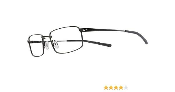 c322e73cfe5e Amazon.com  Nike Eyeglasses 4193 001 Black Chrome Demo 55 18 145  Clothing