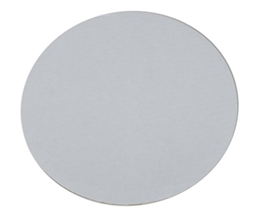 "Southern Champion Tray 11325 14"" Mottled Corrugated Uncoated Single Wall Cake and Pizza Circle, White (Case of 100)"