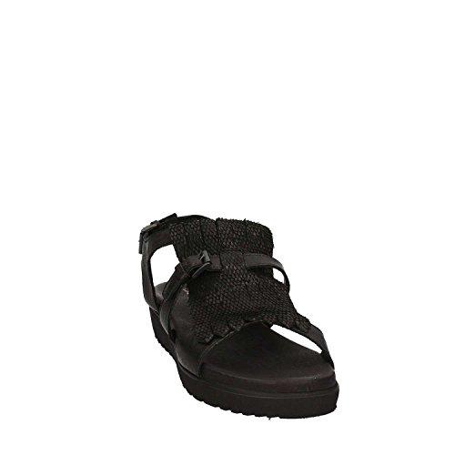 MARITAN 660167 Sandales compensées Femmes Noir sNrtI