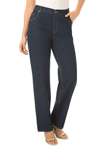 Petite Woven Jeans - 6