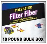 Blue Ribbon Pet Products ABLPLY10 Polyester Floss Bulk Filter Media, 10-Pound