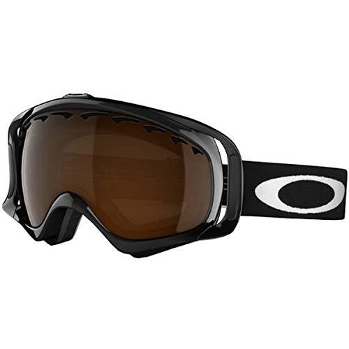 eee67a737c Oakley Crowbar Adult Snowmobile Goggles - Jet Black Black Iridium One Size  (B001GO0IX8)