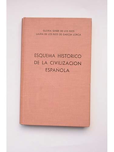 Esquema histórico de la civilización española: Amazon.es: GINER DE LOS RÍOS, Gloria y RÍOS DE GARCÍA LORCA, Laura de: Libros