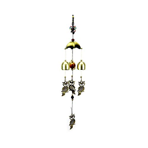 (WLHQX 2pcs Wind Ringer Hanging Decoration Family Outdoor Garden Garden Wall Decoration Window)