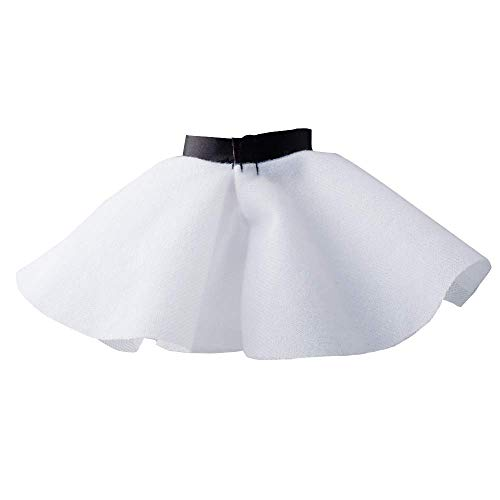 yamaso Santa Couture Clothing for elf Doll (White Skirt)