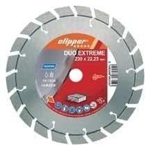 Norton Saint Gobain 70184624576 Duo Extreme - Disco de corte para amoladora (diamante, 230 x 2,8 x 22,23 mm)