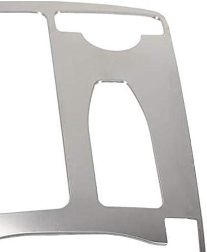 Liseng Zentralkonsole Getr/änkehalter Wasserbecherhalter Panel Dekoration Verkleidung f/ür Mercedes C-Klasse W204 2008-2014 RHD