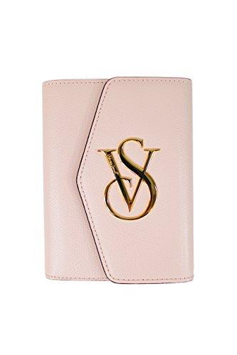 victorias-secret-leather-passport-wallet-w-button-flap-over-pink-w-gold-vs