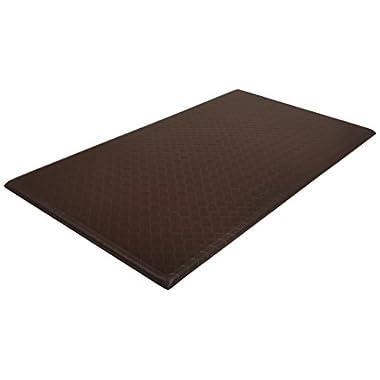 AmazonBasics Premium Kitchen/Office Comfort Standing Mat - 20x36-Inches, Dark Brown