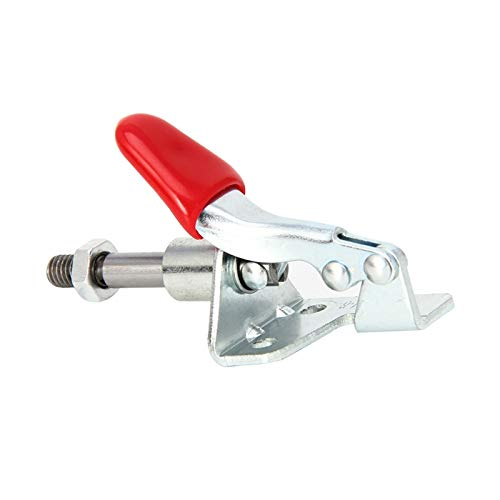 ILLIO 45kg Quick Release Hand Tool Push-Pull Type Fast Clamp for Fixing Workpiece - Workpiece Clamp