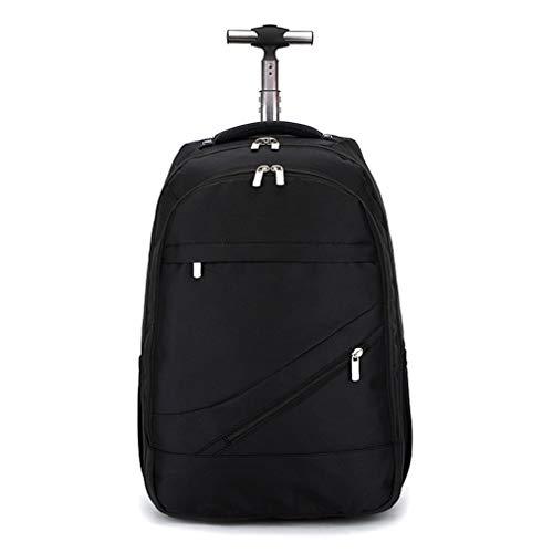 - Men's Business Travel Large Waterproof Shoulder Bag Trolley Backpack Laptop Backpacks
