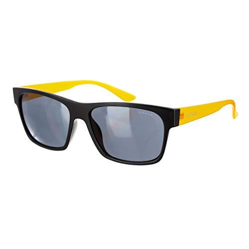 taille unique Homme soleil de Noir Lunettes orange Sunglasses Lotus q08Fww