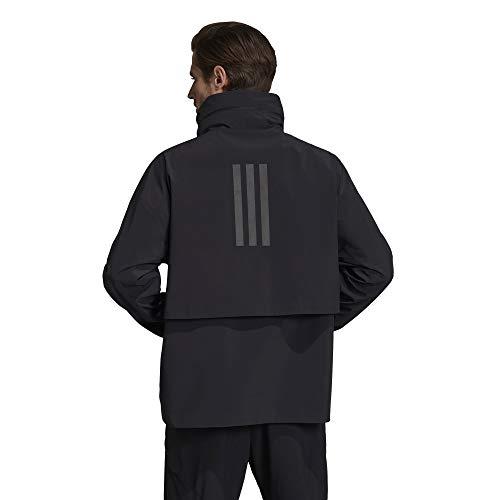 adidas Outdoor mens MYSHELTER Jacket Black X-Large