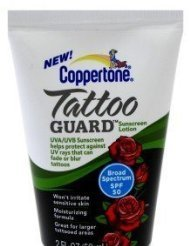 Coppertone Tattoo Guard Lotion SPF 50, 2.0 Fluid Ounce